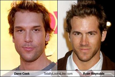Dane Cook Ryan Reynolds on Dane Cook Totally Looks Like Ryan Reynolds   Cheezburger
