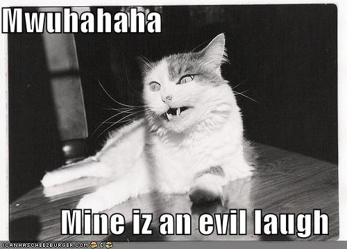 evil laugh