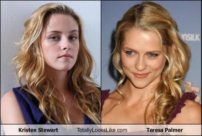 Teresa Palmer Kristen Stewart on Cheezburger   Kristen Stewart Totally Looks Like Teresa Palmer