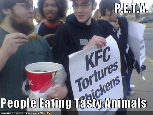 PETA tasty animals
