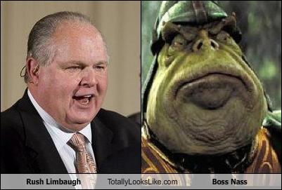 Rush Limbaugh funny look 