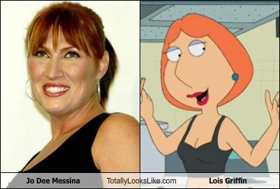 Jo Dee Messina Totally Looks Like Lois Griffin. Look-alike by: kkrule1213