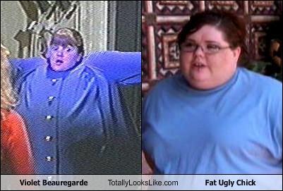 Violet Beauregarde Fat