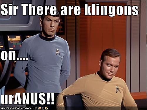 Uranus Klingons 