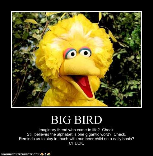 big bird meme