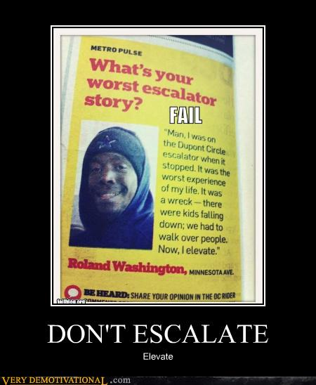 DON'T ESCALATE