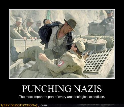 PUNCHING NAZIS