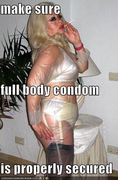 full body condom gif