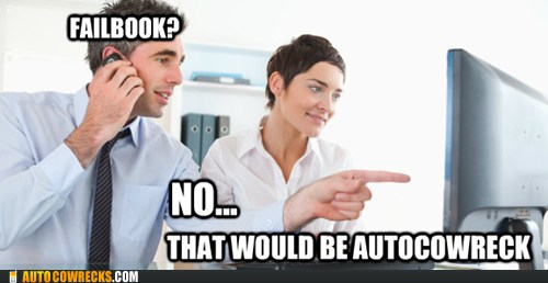 autocowrecks - failbook no that would be autocowreck