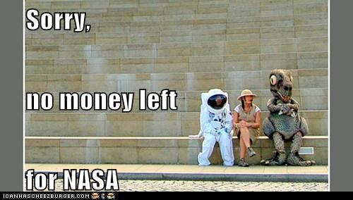 no money for nasa
