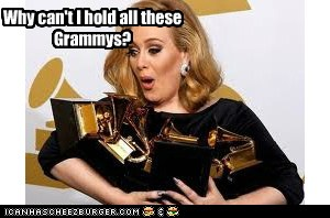can t hold all these grammys