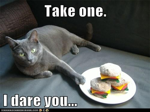 Take one.  I dare you...