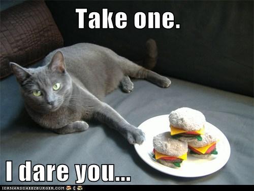 Take one.  I dare you...