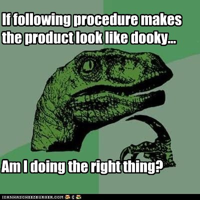 Philosoraptor Questions Your Ethics