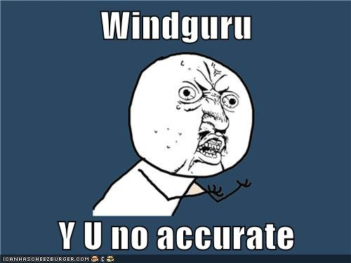 Windguru  Y U no accurate