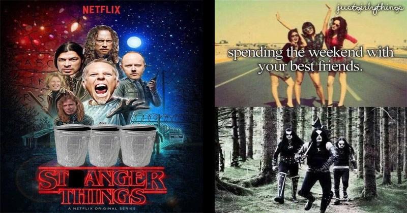 21 Rock Hard Memes For The Metal Fans Memebase Funny Memes