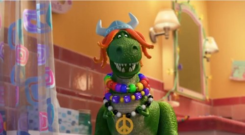 Pixar's Full 'Partysaurus Rex' Short of the Day