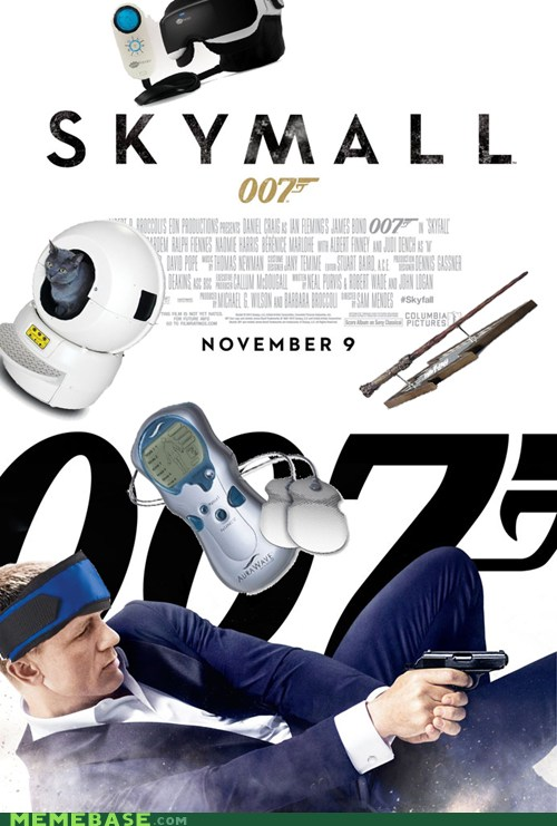 James Bond, Skymall