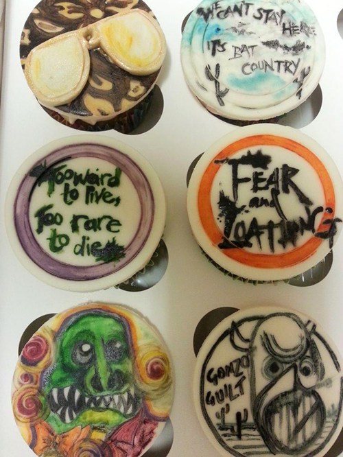 Fear And Loathing Cupcakes of the Day