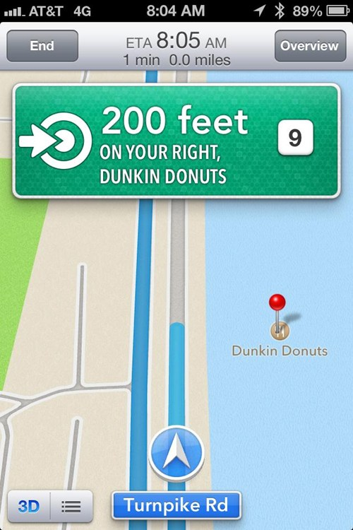 Apple Maps, Wat R U Doin'?