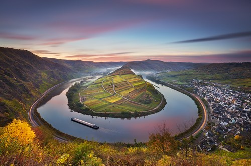 Around the Corner at Mosel Bend