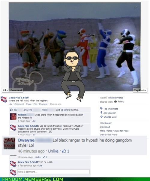 Black Ranger Gangnam Style