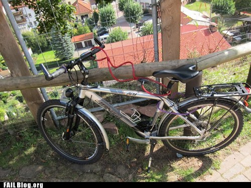 Bike Security FAIL