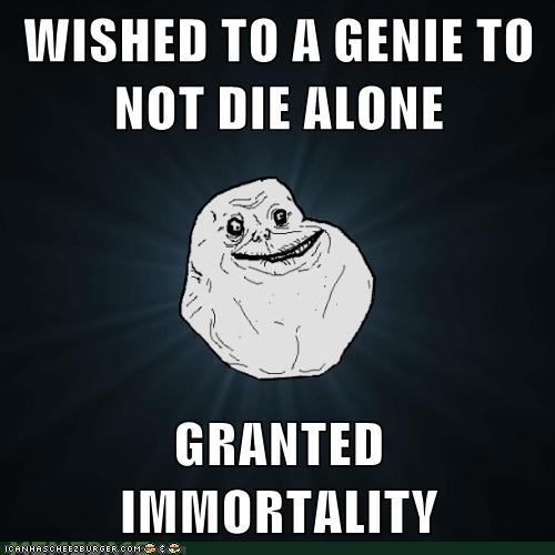 Bad Luck Forever Alone Guy