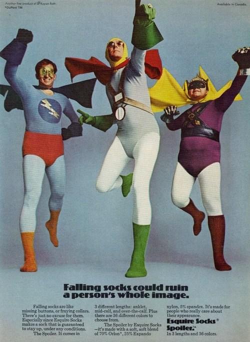 Those Are Some Super Socks