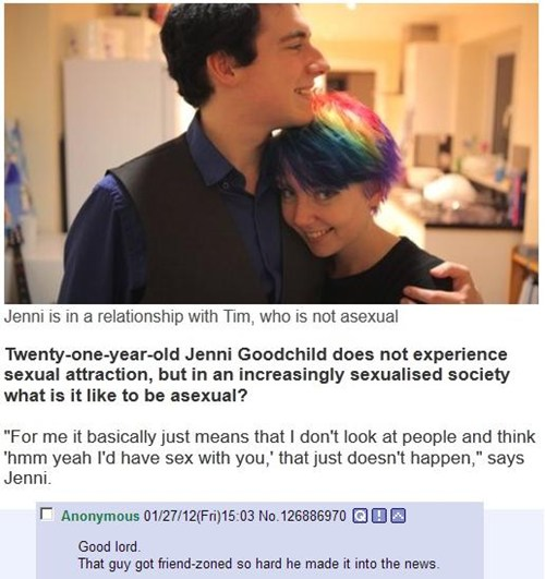 The Asexual Friendzone