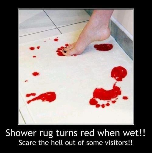 What's On Your Bathroom Floor