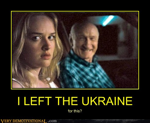 I LEFT THE UKRAINE