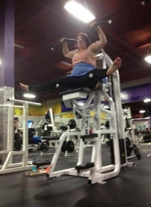 Pumping Iron FAIL