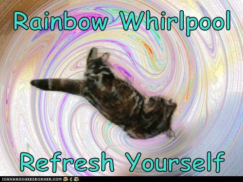 Rainbow Whirlpool  Refresh Yourself