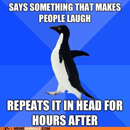 Socially Awkward Penguin: Man, I'm Awesome!
