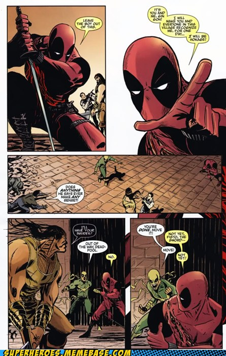 Apparenlty Deadpool Reads Naruto