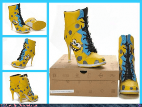 y7zfcrOvdEi Kz I Oj6lQ2 Poorly Dressed: Spongebob Heelpants Funny Picture