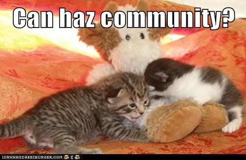 Can Haz Community?
