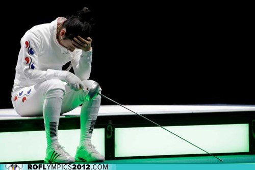 South Korean Fencer Gets Special Medal