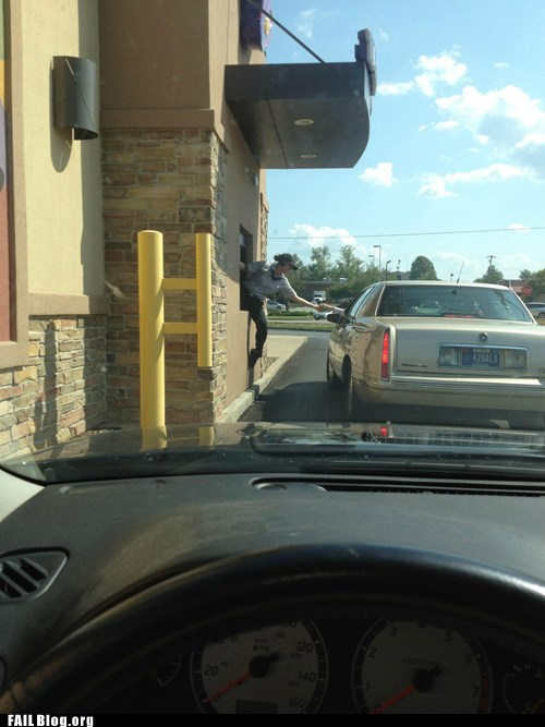 VwN9UG IFU j7mMERGBEAg2 FAIL Nation: Pulling Up to the Window FAIL Funny Picture
