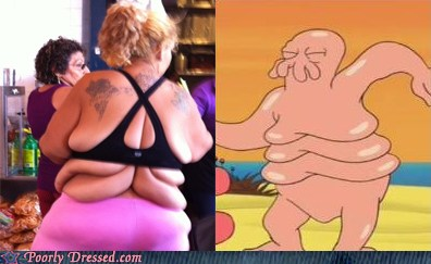 g26xzcfmgE IDki53HOZhA2 Poorly Dressed: Zoidberg, Put Your Shell Back On! Funny Picture
