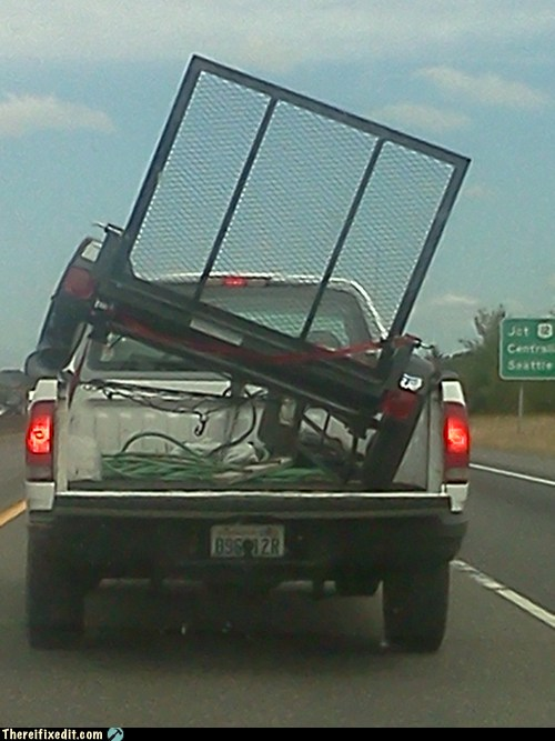 That's for Carrying Cargo, Buddy, Not BEING Cargo!