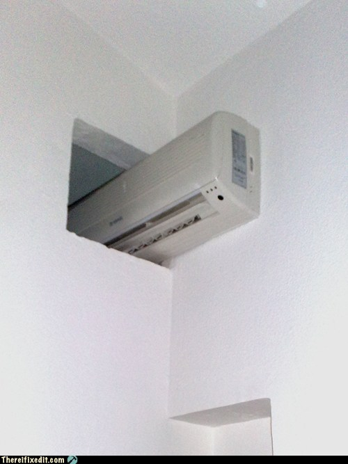 This A/C Unit Has Found Its Niche
