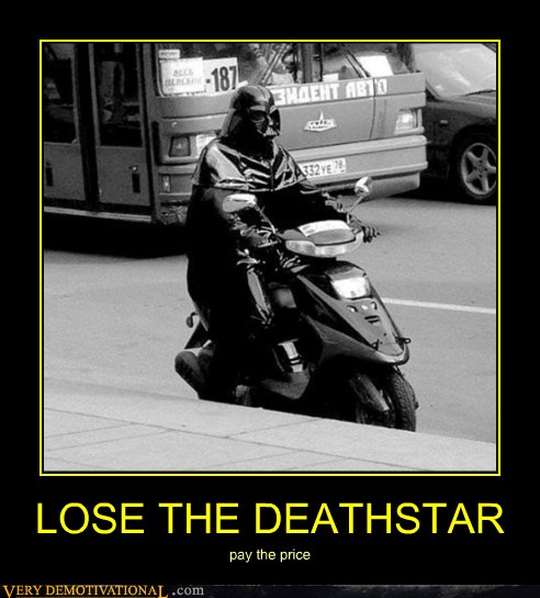 LOSE THE DEATHSTAR