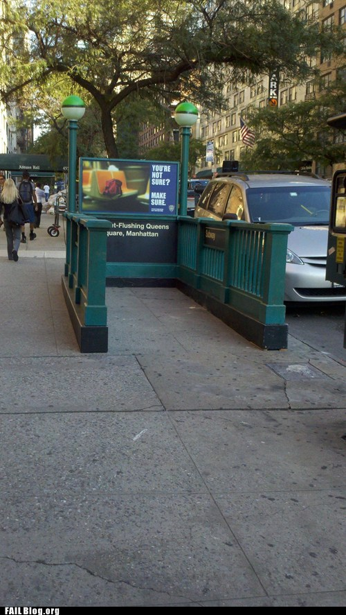 Subway to Nowhere FAIL