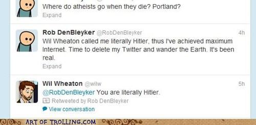 Hitlerally!