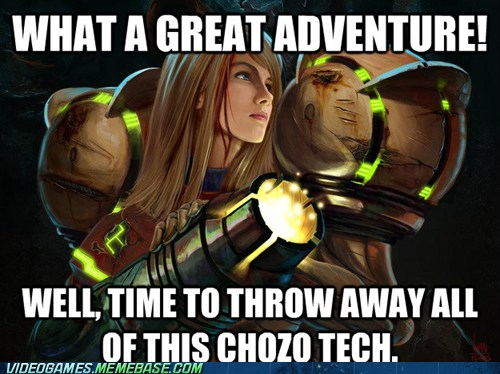 The End of Every Metroid Game