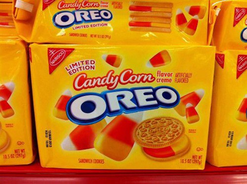 Candy Corn Oreos of the Day