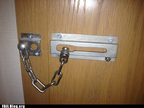 Home Security FAIL