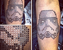 These Cross Stitch Tattoos Will Make You Clean Out Your Savings and Book a Flight to Turkey